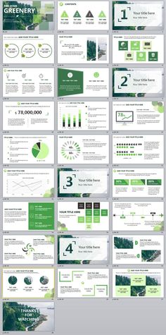 28+ Green annual report chart PowerPoint template #powerpoint #templates #presentation #animation #backgrounds #pptwork.com #annual #report #business #company #design #creative #slide #infographic #chart #themes #ppt #pptx