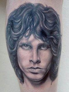 Nice Jim Morrison tat