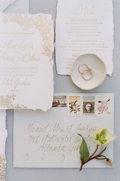 Ink Ivory Wedding Invitations, Addressing Wedding Invitations, Envelope Addressing, Letterpress Wedding Invitations, Destination Wedding Invitations, Wedding Envelopes, Wedding Stationery, Ethereal Wedding, Torn Paper