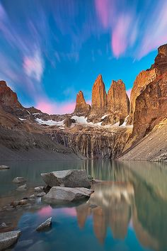 """""""Torres del Paine"""" by Joerg Bonner, Patagonia Chile Backpacking South America, South America Travel, Places To Travel, Places To See, Beautiful World, Beautiful Places, Magic Places, Patagonia, Torres Del Paine National Park"""