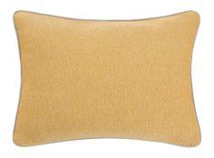 Malone 35 x 50cm 100% Cotton Cushion, Mustard