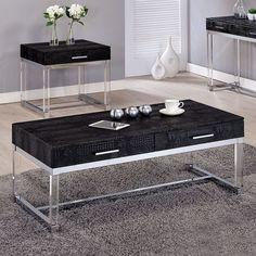 Furniture Of America Rhea Coffee Table CM4380BK-C