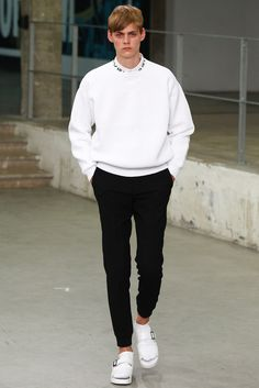 Carven | Spring 2015 Menswear Collection | Style.com