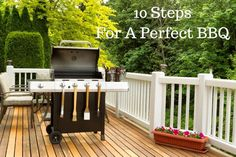 10 Steps For A Perfect BBQ! Can you believe it's almost time for summer BBQ's and Cookouts? These tips will help host the best one ever! AD
