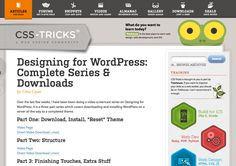 A great place to learn Wordpress and web design
