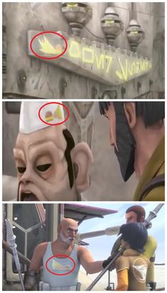Did anyone else notice this? It's the logo from the restaurant he used to work at on Abafar! Star Wars Rebels, Star Wars Clone Wars, Star Wars Pictures, Star Wars Images, Star Wars Facts, Star Wars Humor, Ahsoka Tano, Republic Commando, Star Wars Canon