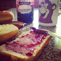 #SundayMorning #WildBlueberryJam #ScottishJam #Mackays