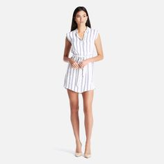 JINNY STRIPE S'LESS SHIRT DRESS New Look Dresses | Superbalist.com
