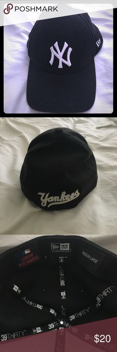 New York Yankees Hat Black, genuine, New York Yankees Hat. Great condition! New Era Accessories Hats