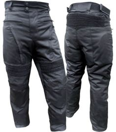 "Mens Black Motorcycle Waterproof Pants Removable Ce Armor Approved En-1621-1 (44"" Reg) Biker Gear http://www.amazon.com/dp/B00HNAMWH4/ref=cm_sw_r_pi_dp_lat0tb000D84F4VT"