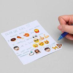 iPhone Emoji Sticker Pack