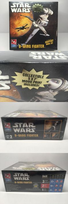 Star Wars 49212: 2005 Amt Star Wars B-Wing Fighter Model Skill Level 2 New 10+ -> BUY IT NOW ONLY: $42.29 on eBay!