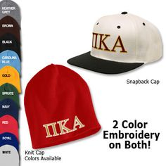 Fraternity Beanie and Cap Package