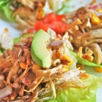 Villa Blanca's Butter Lettuce Cups with Grilled Chicken