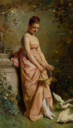 Classical Paintings by Charles Joshua Chaplin 17