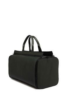 BAMIN Leather Duffel And Overnight Bag Set