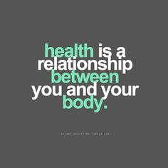 th3skinny: And your mind! True health is holistic, and health...