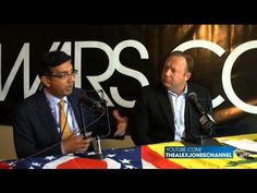 DINESH D'SOUZA'S HILLARY'S AMERICA — Christian Patriots -- Alex Jones interviews Dinesh D'Souza about his time as a political prisoner as well as his new movie Hillary's America. [07/20/16]