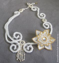 "Wedding Necklace ""Mac"" 