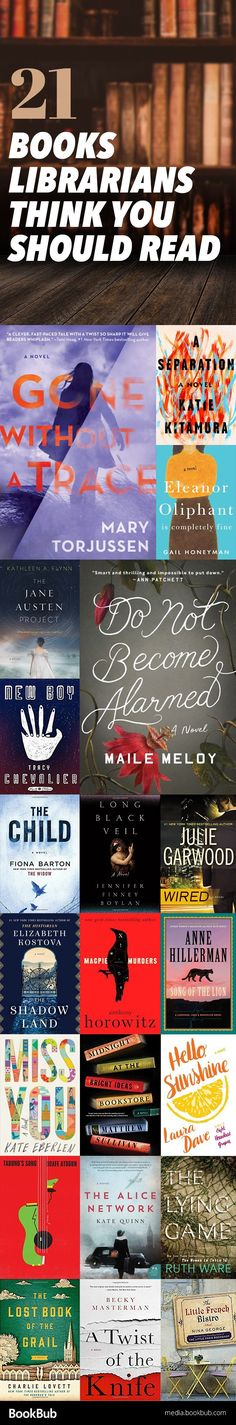 21 recommended books for women, for adults, or for anyone! Including great fiction recommended by librarians for summer 2017.