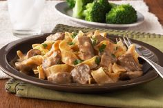 Slow Cooker Recipe: How to Make CrockPot Beef Stroganoff. Learn how to make this delicious meal that you set and forget until dinner time!