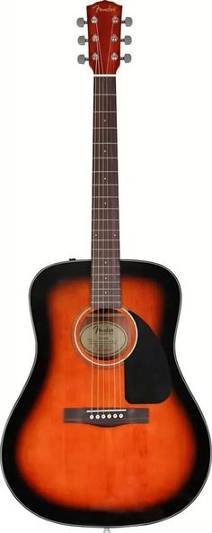 Fender CD-60 Acoustic Guitar Sunburst