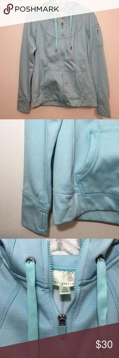Tangerine Athletic Blue Full Zip Sweater Tangerine Athletic Blue Full Zip Sweater Hoodie Size - Medium   FLAT MEASUREMENTS BUST 19 LENGTH 25 1/2 SLEEVE LENGTH 29 1/2 :76 Tangerine Tops Sweatshirts & Hoodies