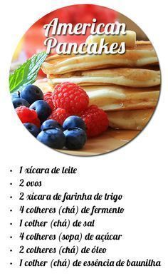 15 Fun Dinner Recipes To Make With Friends - HomelySmart American Pancakes, Yummy Food, Tasty, Brunch, I Foods, Love Food, Sweet Recipes, Food To Make, Vegetarian Recipes