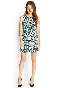 Surplice Ikat Print Dress   FOREVER21 - 2000104861 Another item to add to my wish list!