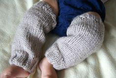 Baby Leg Warmers Newborn Leg Warmers Knit Leg by BambinoStore