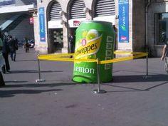 Schweppes - Guerilla/Street marketing