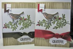 Grateful - Bird on a Branch