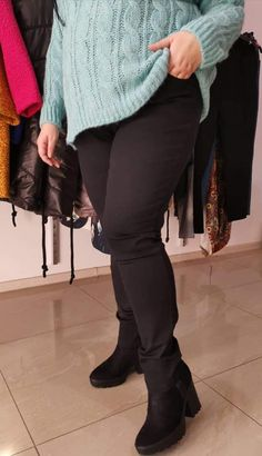 Spodnie z jeansu Cevlar BJB 01 kolor czarny - Big Sister