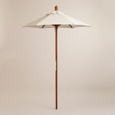 5' Brown Umbrella Frame
