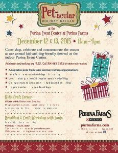 Purina Farms Pet-acular Holiday Bazaar