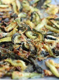 Zucchine al forno de-li-zi-o-se · Italianchips Vegetable Recipes, Vegetarian Recipes, Cooking Recipes, Healthy Recipes, Good Food, Yummy Food, Veggie Side Dishes, Food Test, Light Recipes