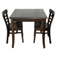 Ningbo's Chester Restaurant Chair with Ningbo's Square Restaurant Table.