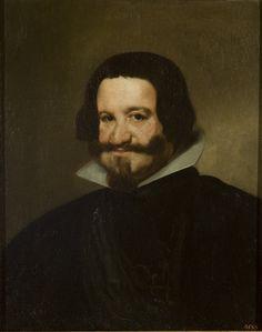 Diego Velázquez de Silva Portrait of Count-Duke de Olivares, c 1638 © State Hermitage Museum, St Petersburg Spanish Painters, Spanish Artists, Caravaggio, Diego Velazquez, Baroque Art, Hermitage Museum, Graf, Herzog, Exhibition