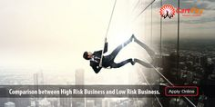 Comparison between High Risk Business and Low Risk Business.