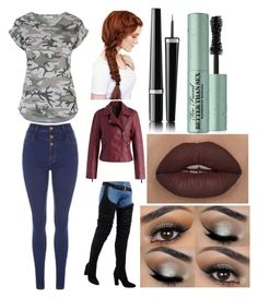 """""""Here I go again"""" by katywilliams on Polyvore featuring Chicwish, Chanel and Too Faced Cosmetics"""