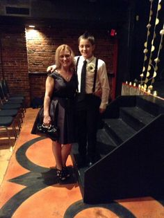 My grandson and his mother Tiffany. 10/5/13