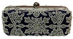 box bag with beadwork
