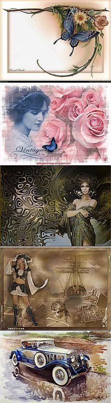 Обложки на паспорт / Картинки для декупажа / PassionForum - мастер-классы по рукоделию