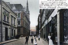 Bytom przed laty. Ulica Gliwicka, 1904 roku.