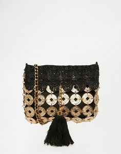 Find the best selection of ASOS Festival Coin Tassel Cross Body Bag. Shop today with free delivery and returns (Ts&Cs apply) with ASOS! Asos, Good Vibes Festival, English Clothes, Festival Essentials, White Shoulder Bags, Mode Boho, Denim And Supply, Festival Outfits, Vintage Accessories