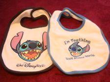 WDW Lilo and Stitch Stitch Baby Bib Set Disney