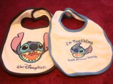 WDW Lilo and Stitch Stitch Baby Bib Set Disney