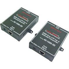 Calrad 40-1090-3D HDMI Over Single CAT5e/6 Extender by Calrad. $129.69. HDMI over Single CAT5e/6 Extender. Save 29%!