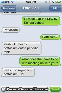 Would have been clever if they would have spelled potassium correctly
