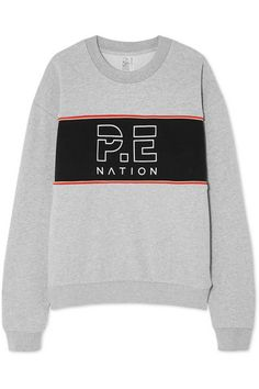 Shop on-sale Invictus oversized paneled cotton-jersey sweatshirt. Browse other discount designer Sweatshirts and Hoodies & more luxury fashion pieces at THE OUTNET Grey Sweatshirt, Fashion Outlet, Hoodies, Sweatshirts, Black Cotton, Luxury Fashion, Sneakers Nike, Shorts, Gray